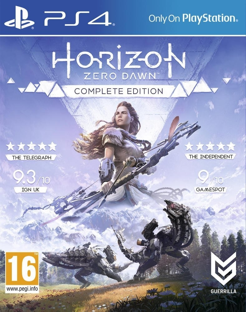 Horizon Zero Dawn Complete Edition / Edycja Kompletna Frozen Wilds PL (PS4)